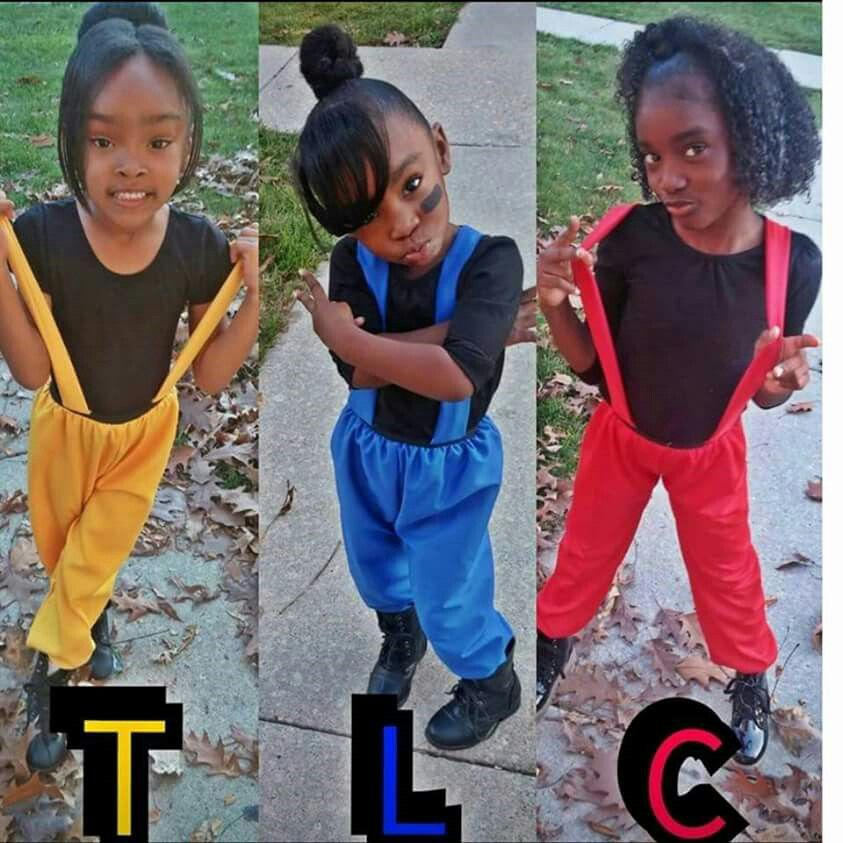 Obviously Tlc T Boz Left Eye Chilli Tlc Costume 90s Halloween Costumes Black Halloween Costumes