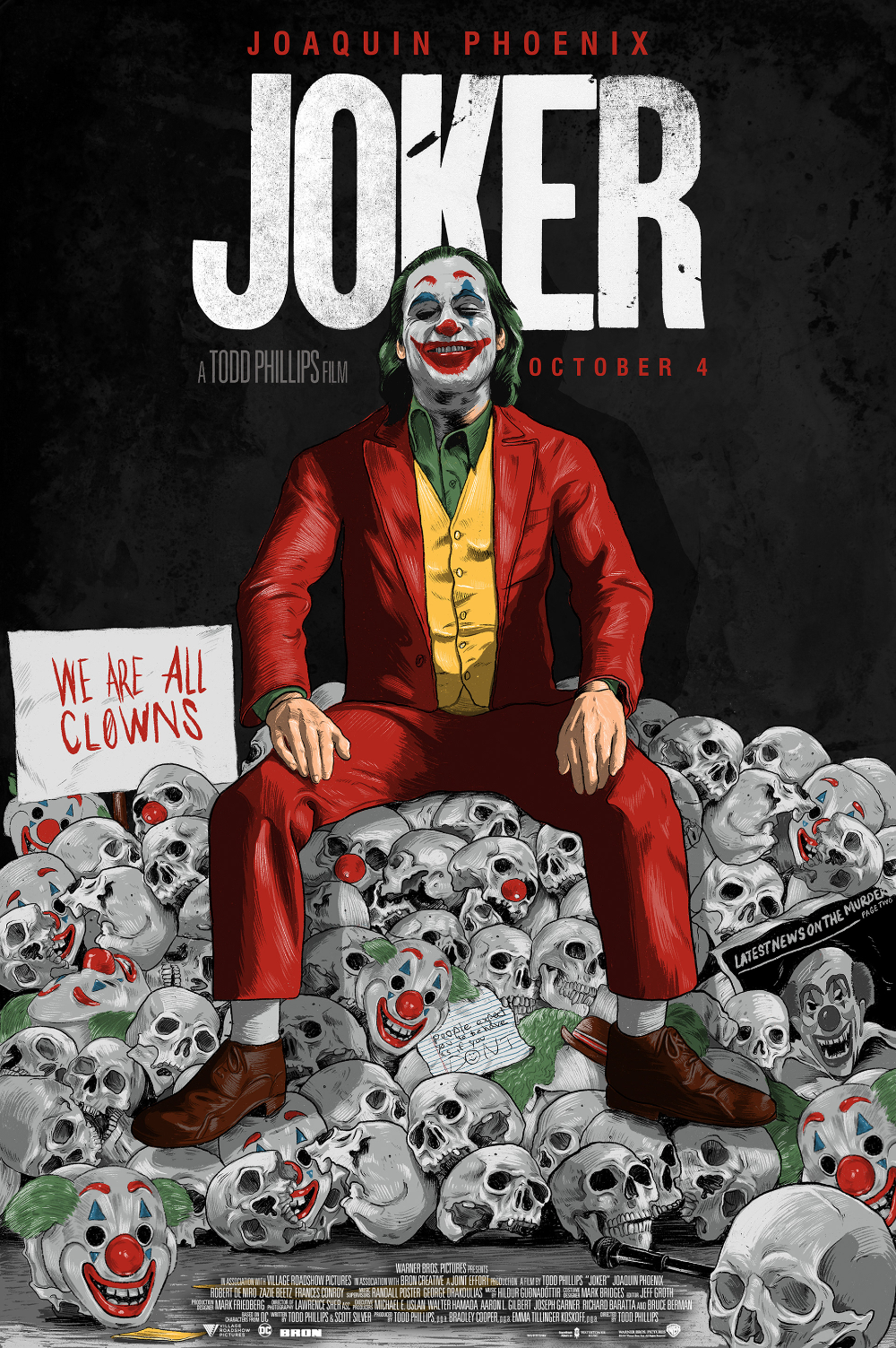 Joker Alternate Movie Poster on Behance in 2020 Joker