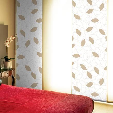 La mezcla de diseños y colores es una tendencia actual en la decoración. Esta tendencia se traslada a la decoración de ventanas gracias a la opción que ofrecen nuestros Paneles Japoneses Combinados.