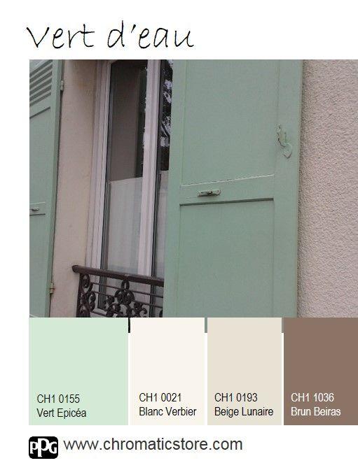 Une palette de teintes fraiches et gourmandes pour une d co intemporelle - Couleur autorisee batiment france ...