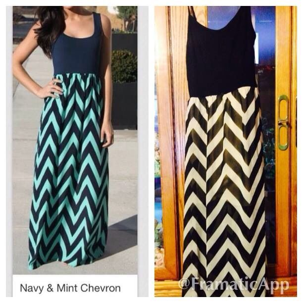 Black and white chevron dress forever 21