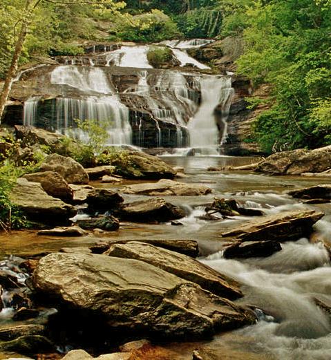 Hiking Tours Usa: Panther Creek Falls Tallulah Falls, Georgia, USA