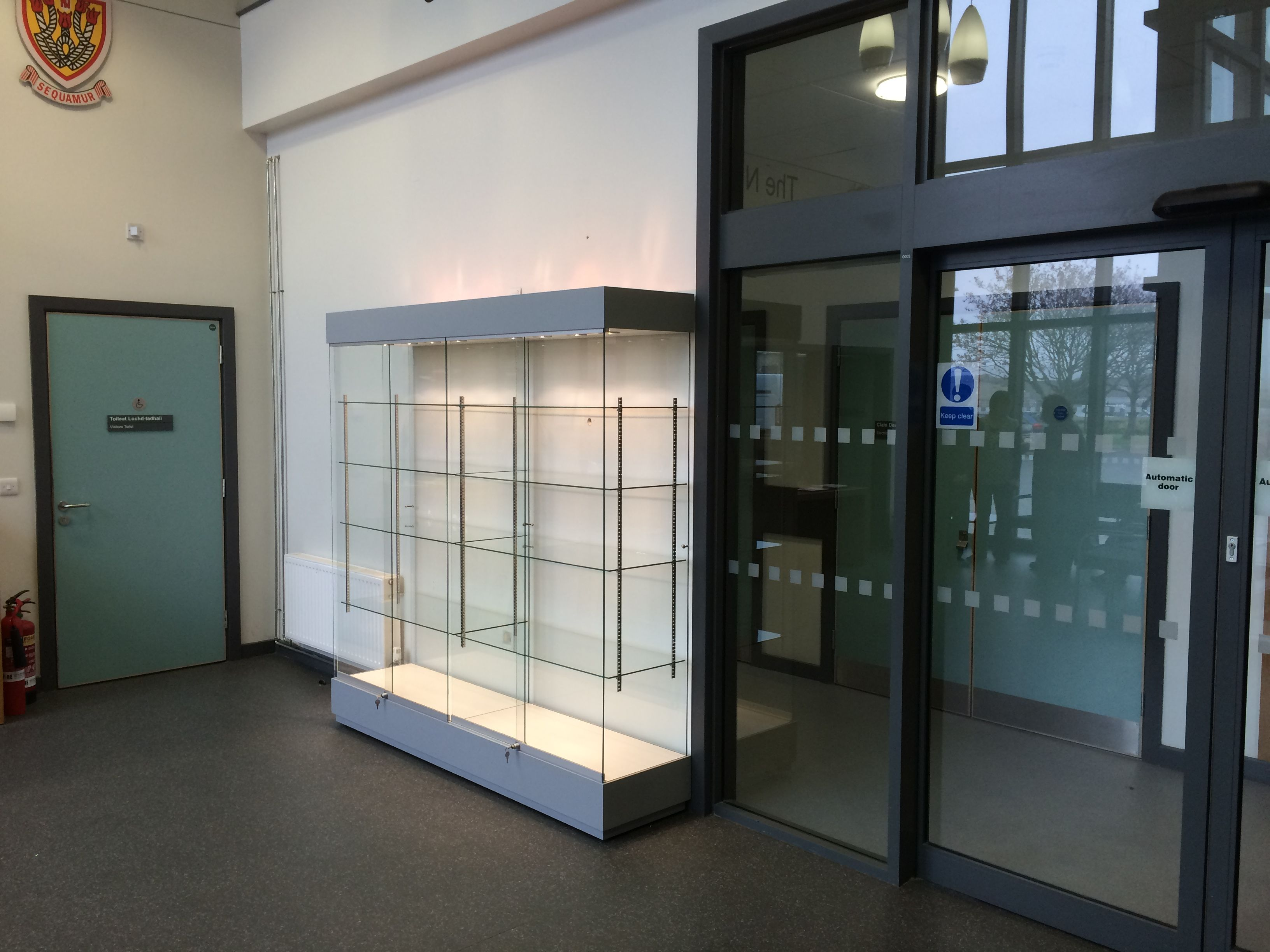 Reception Area Trophy Cabinet  Trophy Cabinets  Trophy