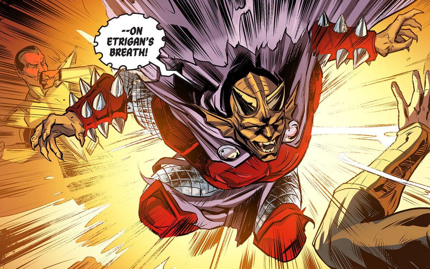 Etrigan Vs Superman Comic: Injustice: Gods Among Us: Year Three, Vol. 1 Etrigan