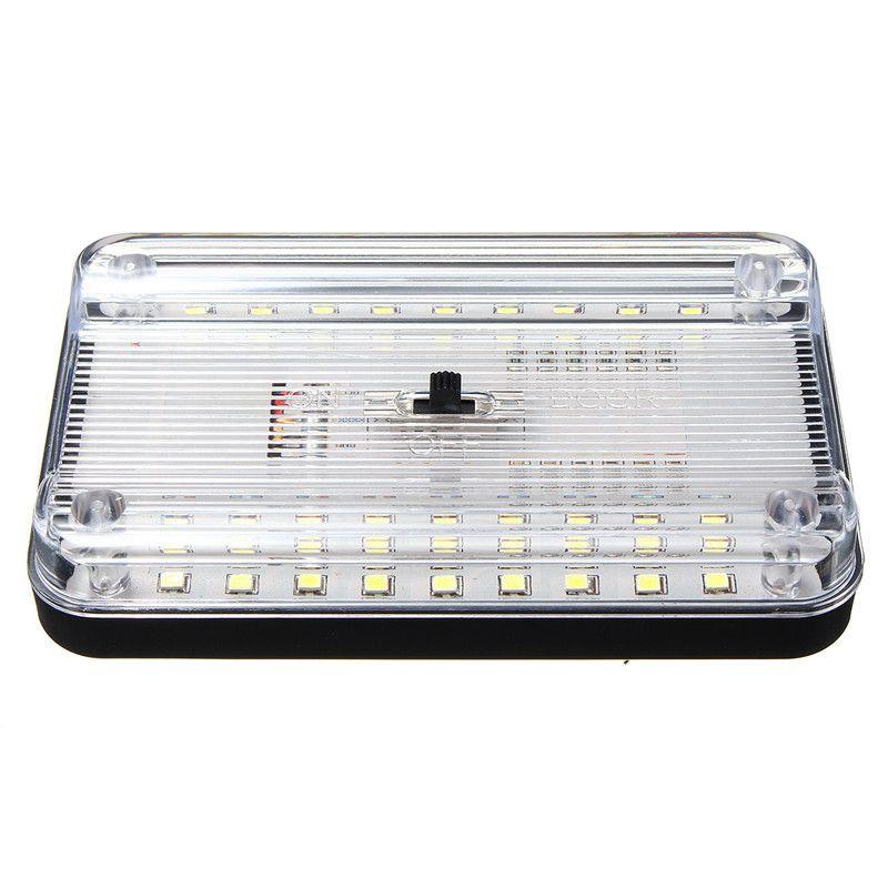 12V 36 White LED Ceiling Dome Roof Interior Light Lamp For Car Auto Van Trunk