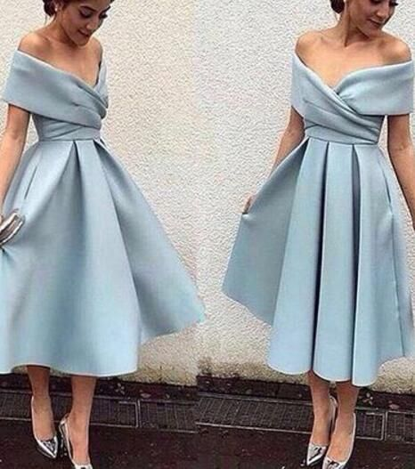 medium length short simple party dresses