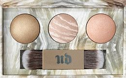 Urban Decay Cosmetics Naked Illuminated Trio Shimmering Powder for Face and Body