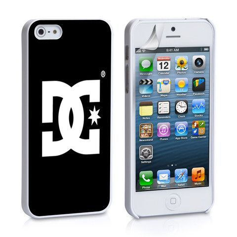 DC Shoes Logo iPhone 4, 4S, 5, 5C, 5S Samsung Galaxy S2, S3, S4 Case – iCasesStore