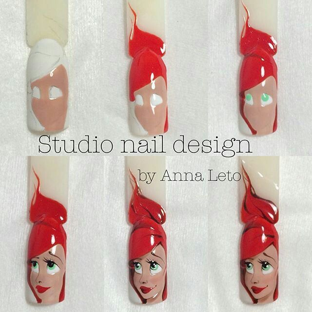 Step By Nail Art Tutorial