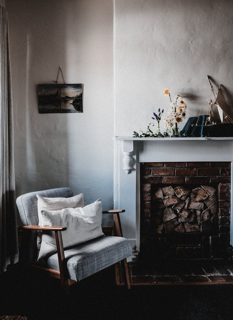 A Reading Corner By The Fire In Captains Cottage A Super Cosy Bolthole In Hobart Tasmania My Scandinavian Home Scandinavian Home Interior