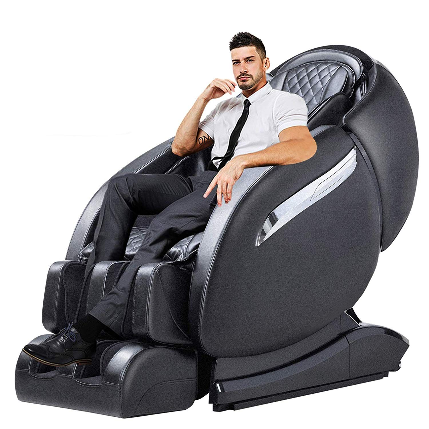 Top 10 Best Full Body Massage Chair Reviews In 2019 Electric Massage Chair Massage Chair Full Body Massage