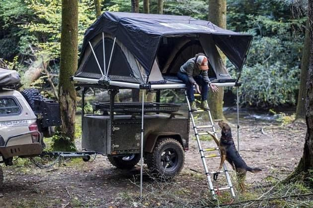 High Country Tent On Journey Offroad Trailer