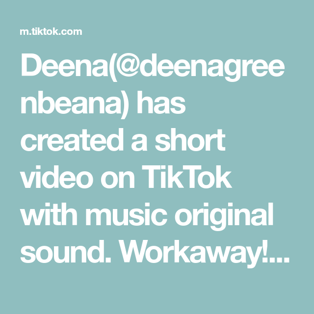 Deena(@deenagreenbeana) has created a short video on TikTok with music original sound. Workaway! #fyp #foryou #travel #cheaptravel #tiktoktravel