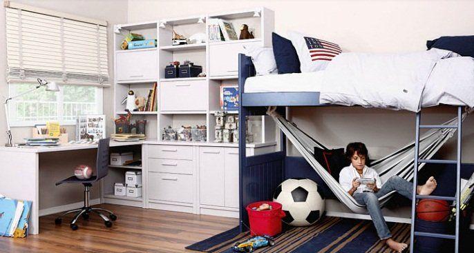 Habitaciones para ni os y adolescentes de la firma asoral - Habitaciones pequenas ninos ...