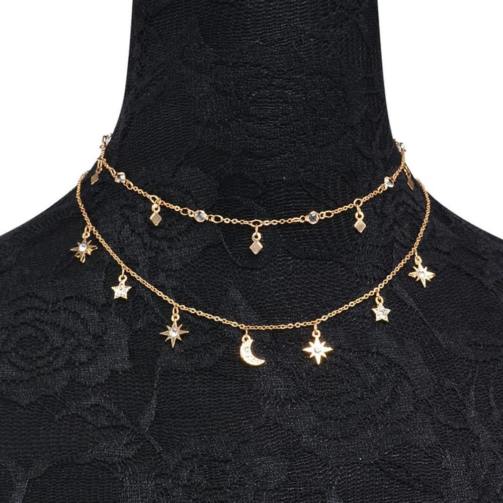 1d201a3f83603 Night Sky Necklace in 2019 | Products | Jewelry, Layered choker ...