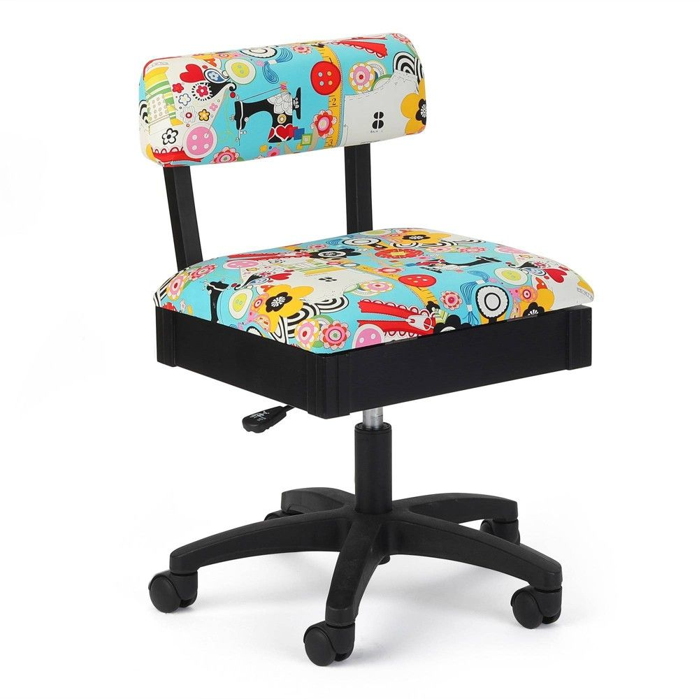 Arrow Cabinets Adjustable Sewing and Craft Chair