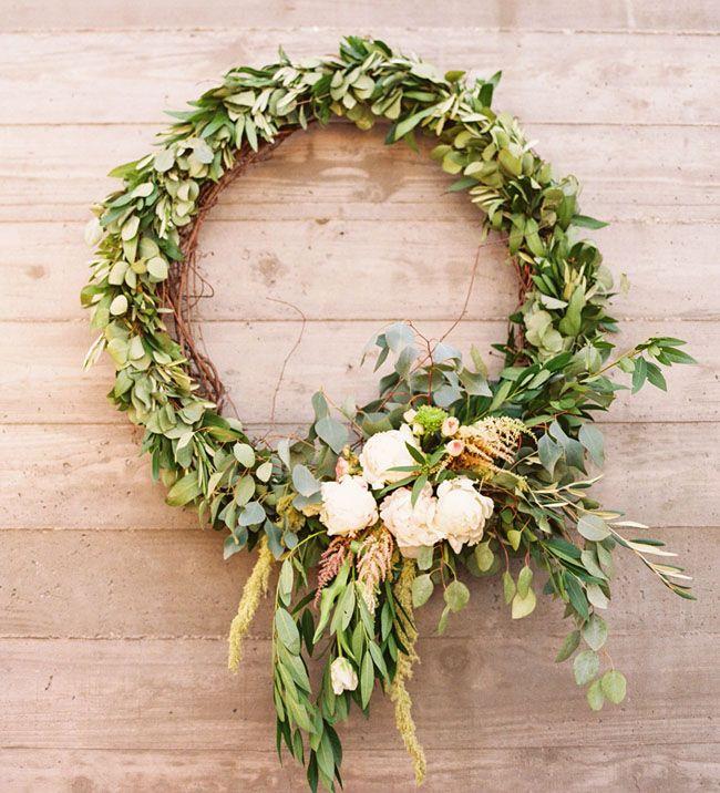 western inspired wreath