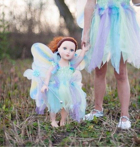 Butterfly Dress Doll Set