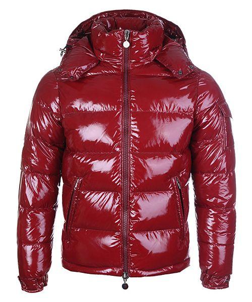 Hot Mens Moncler Himalaya Down Jackets Dark Red 2781441