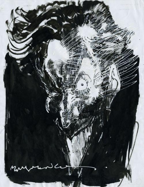 Joker By Bill Sienkiewicz The Joker Batman Dc Comics Art