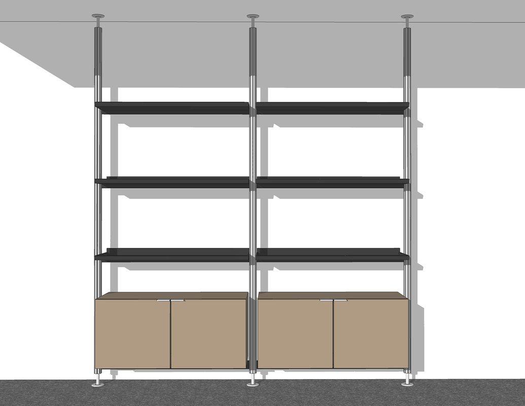 3d Retail Displays Fixtures Sketchup Models Set 4 Retail  # Muebles Google Sketchup