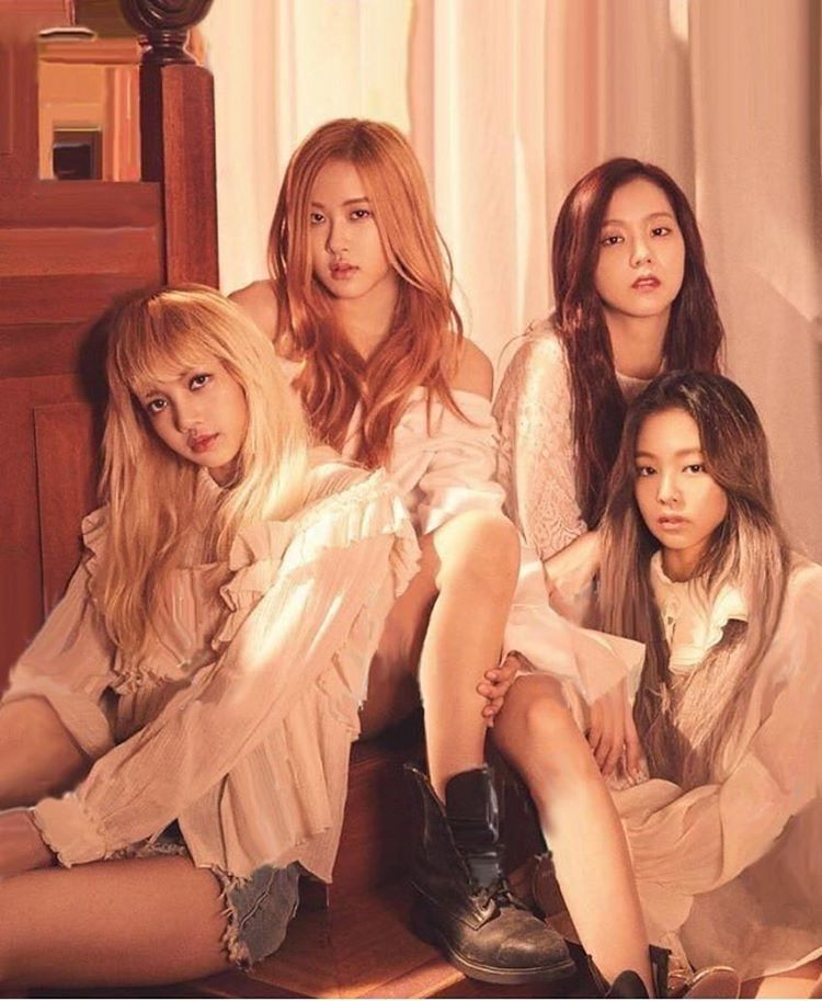 Photoshoot Blackpink Blackpink Rose Jennie Jisoo Lisa Jenjen