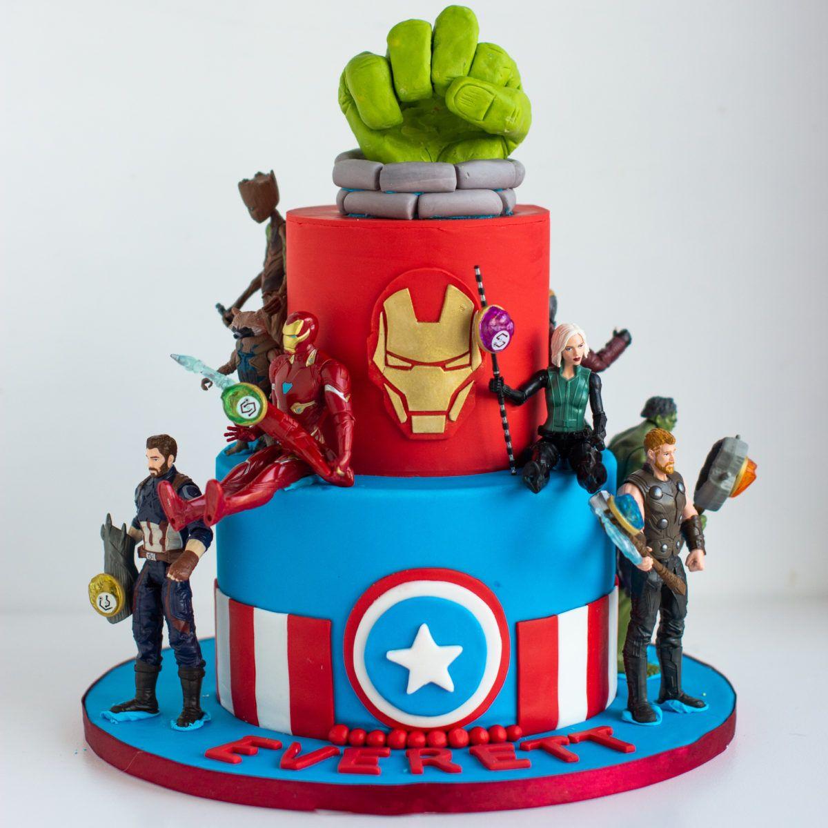America Cake Decorating Supplies Avengers Birthday Cakes Marvel Birthday Cake America Cake