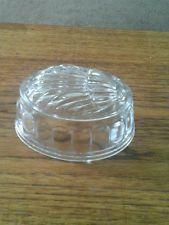 Glass hedgehog jelly mould