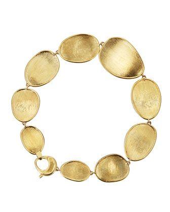 Marco Bicego Lunaria 18k Gold Bracelet, 7L