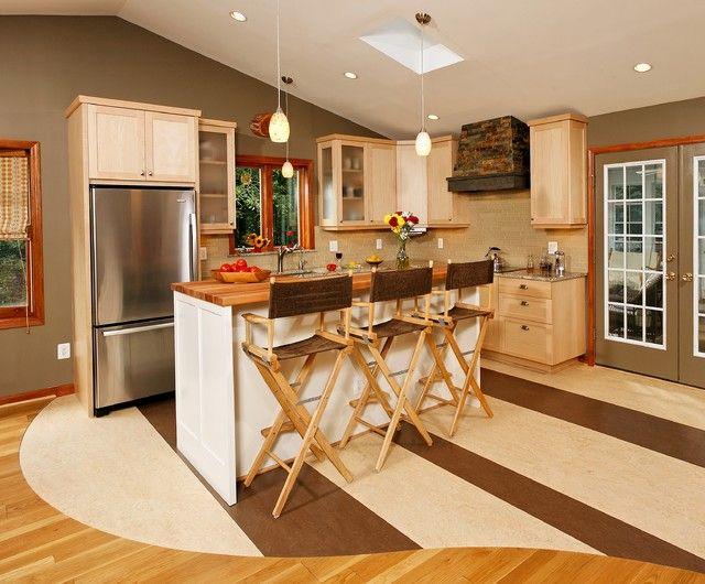 Custom Kitchen Floor #home #house #decor #design #interior #wood ...