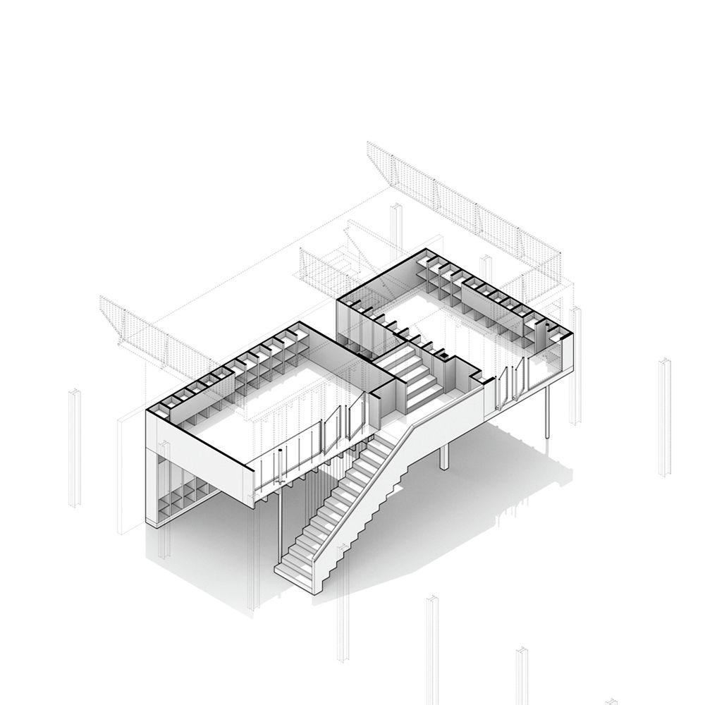 Galeria Arquitectonica: Galería De Estructura De Madera En Launchlabs / Stereo