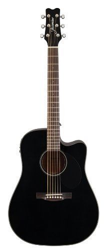 Jasmine Jd39ce Blk J Series Acoustic Electric Guitar Black Guitar Homes Acoustic Electric Acoustic Electric Guitar Semi Acoustic Guitar