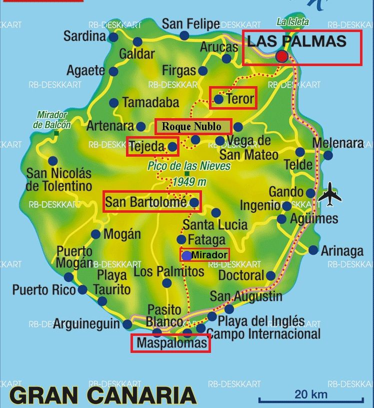 Road Trip A Grande Canarie Voyage Canaries Iles Canaries Voyage