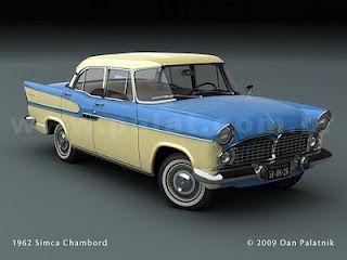 ebb10ce448d Simca Chambord 1962