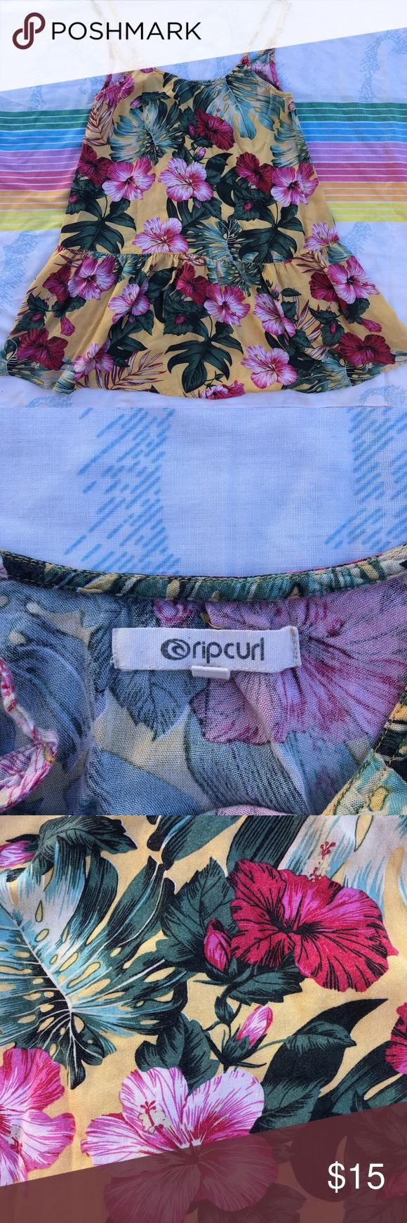 Ripcurl Sundress Ripcurl short sun dress Women's size small In good used condition Rip Curl Dresses #shortsundress