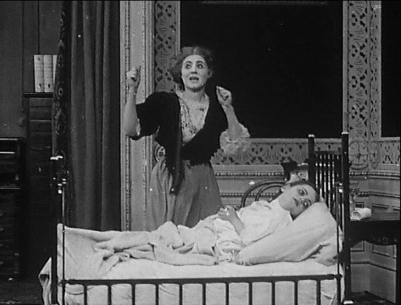 Florence Lawrence in The Country Doctor (1909)