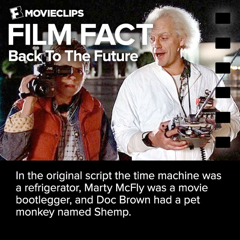 Back To The Future Film Fact Bootlegger Marty Mcfly Film Facts