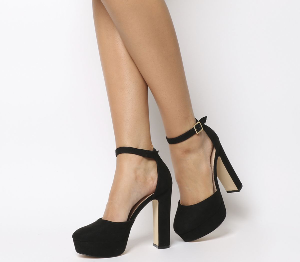Hatch Closed Toe Platform Heels