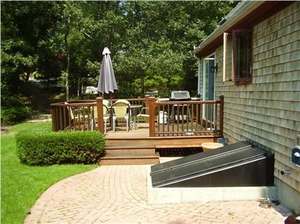 images of capecod homes with back yard decks   Yarmouth Vacation Rental home in Cape Cod MA 02675   ID 19683