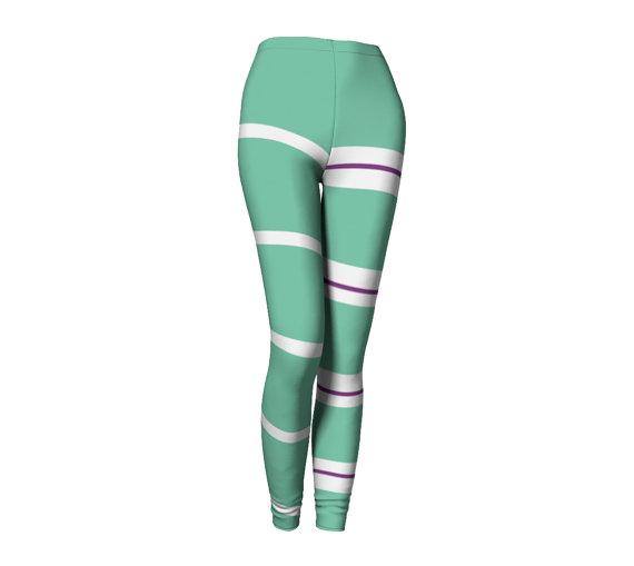 43e5a2a54e6fdc Vanellope Von Schweetz Wreck It Ralph Inspired Leggings   Products ...