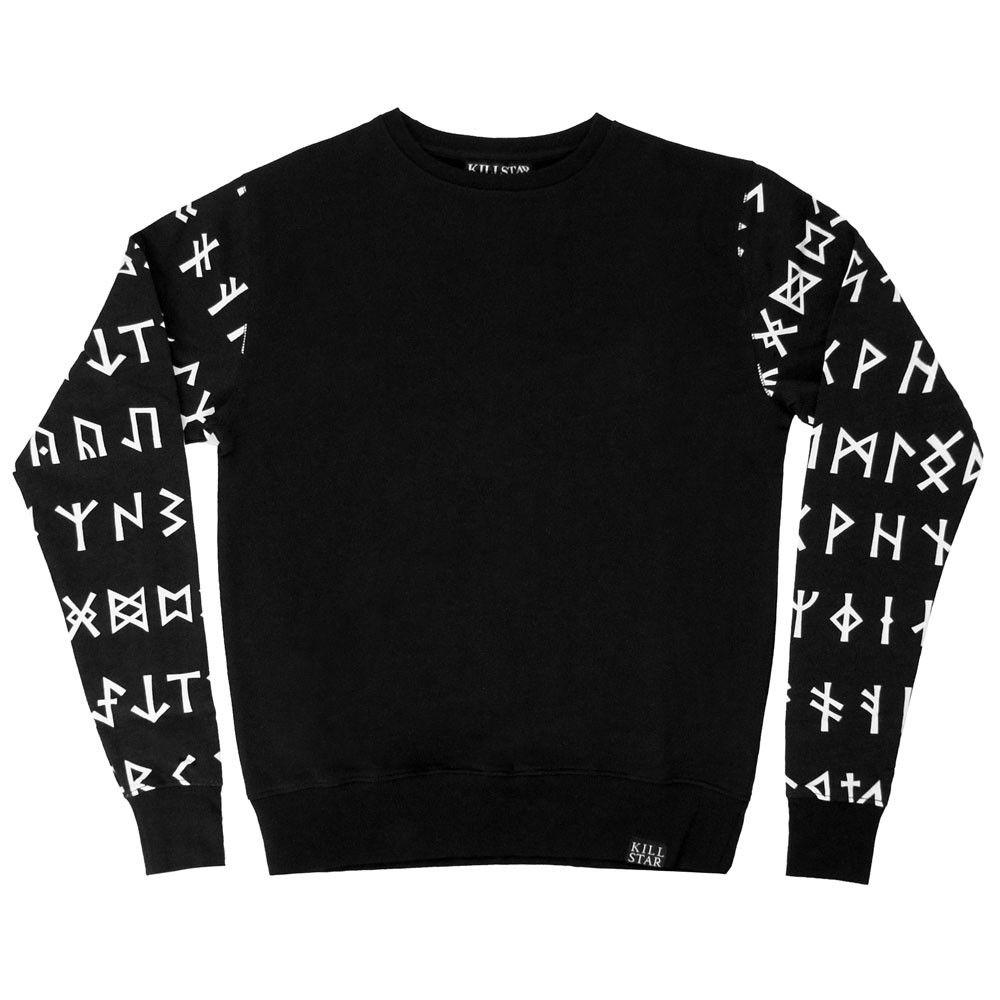 Rune Sweatshirt 50 50 Sweatshirts Clothes Sweatshirts Women [ 1000 x 1000 Pixel ]