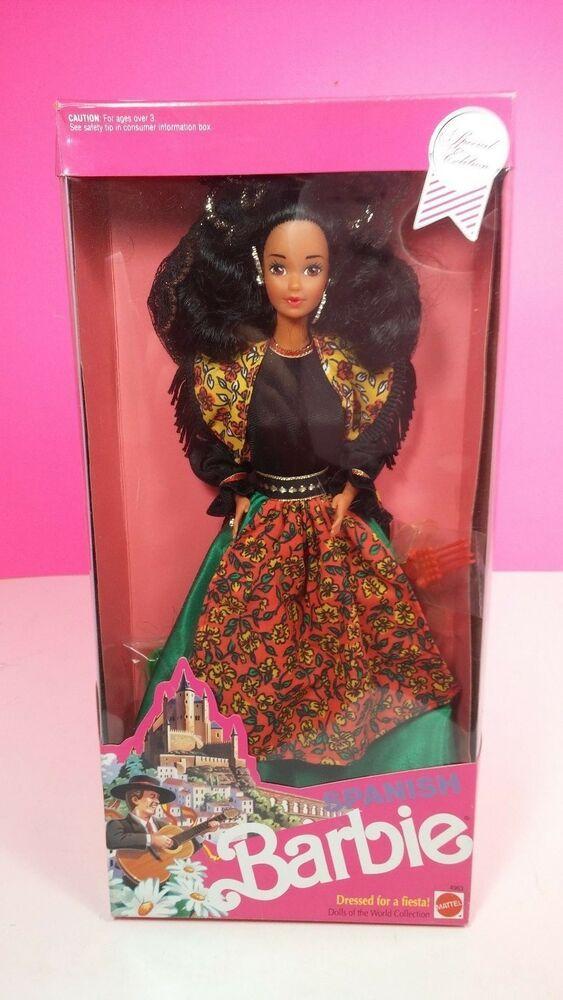 Mattel Barbie Spanish Dolls of World Collection 1991 New #Mattel #spanishdolls