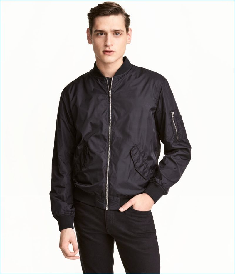 2958a8e19 Fashionisto Essential: Go Casual with H&M's Bomber Jacket | Men's ...