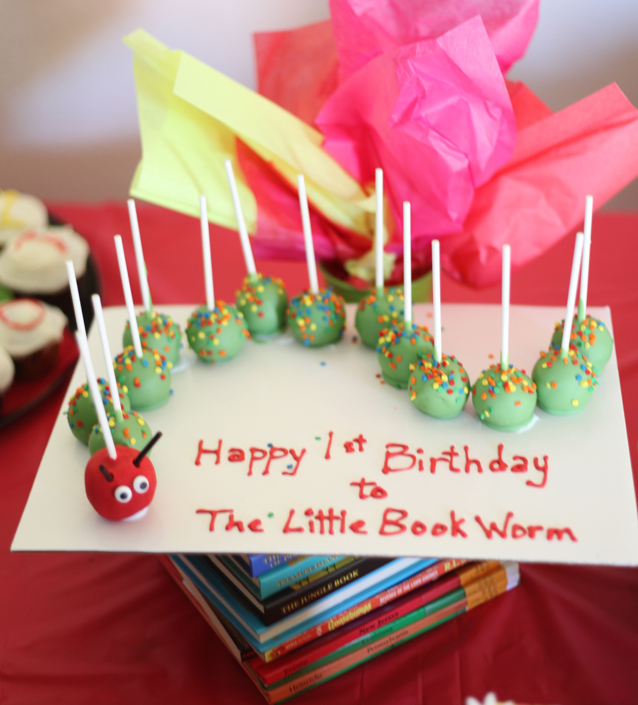 A 1st Birthday Party For The Little Bookworm 1st Birthday Parties Bookworm Party Birthday Party Planning