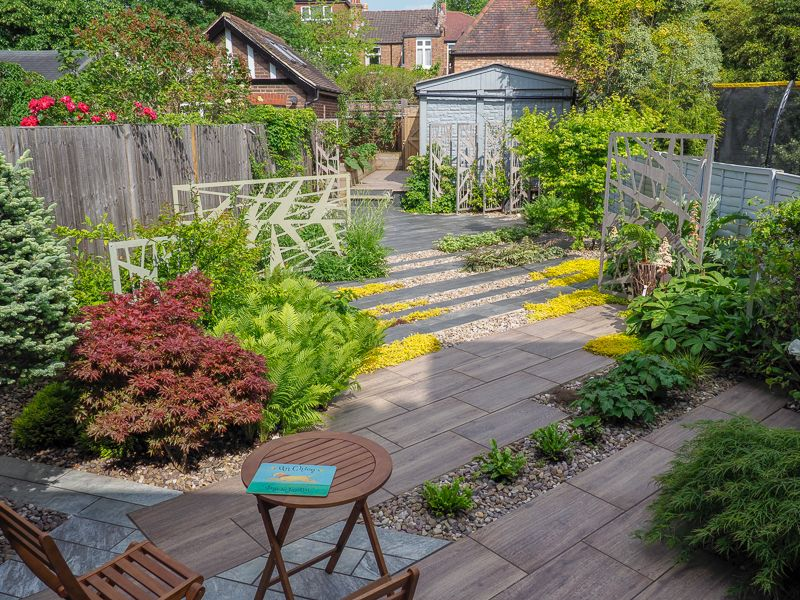 Modern Garden Design In North London By Earth Designs Modern Garden Modern Landscape Design Modern Garden Design