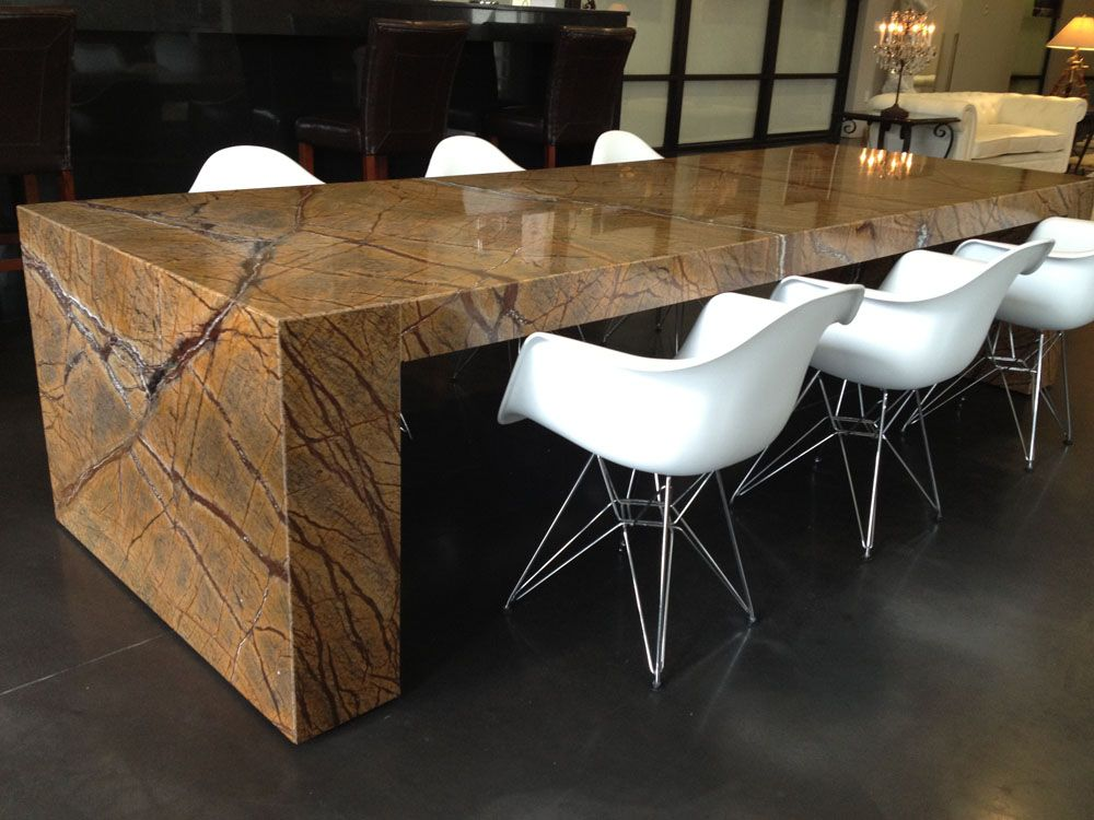 Granite Dining Room Furniture Gorgeous Modern Dining Table  Dining Room  Pinterest  Granite Table Inspiration Design