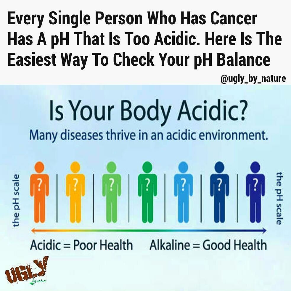 It is a scientifically proven fact that when your body pH