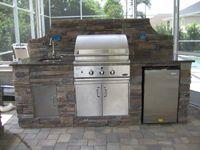Outdoor Kitchens Orlando Fl Outdoor Kitchen Kitchen Outdoor