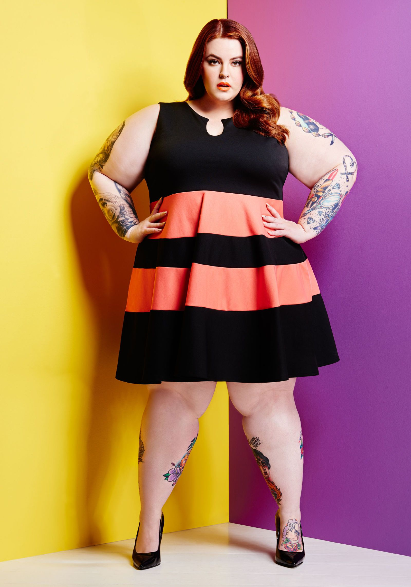 Party Outfit Für Mollige Tess Holliday Gives Us Her Summer Styling Tips For Curvier