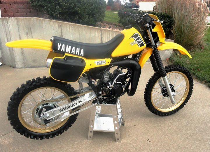 80s Yamaha Vintage Motocross Yamaha Yamaha 125